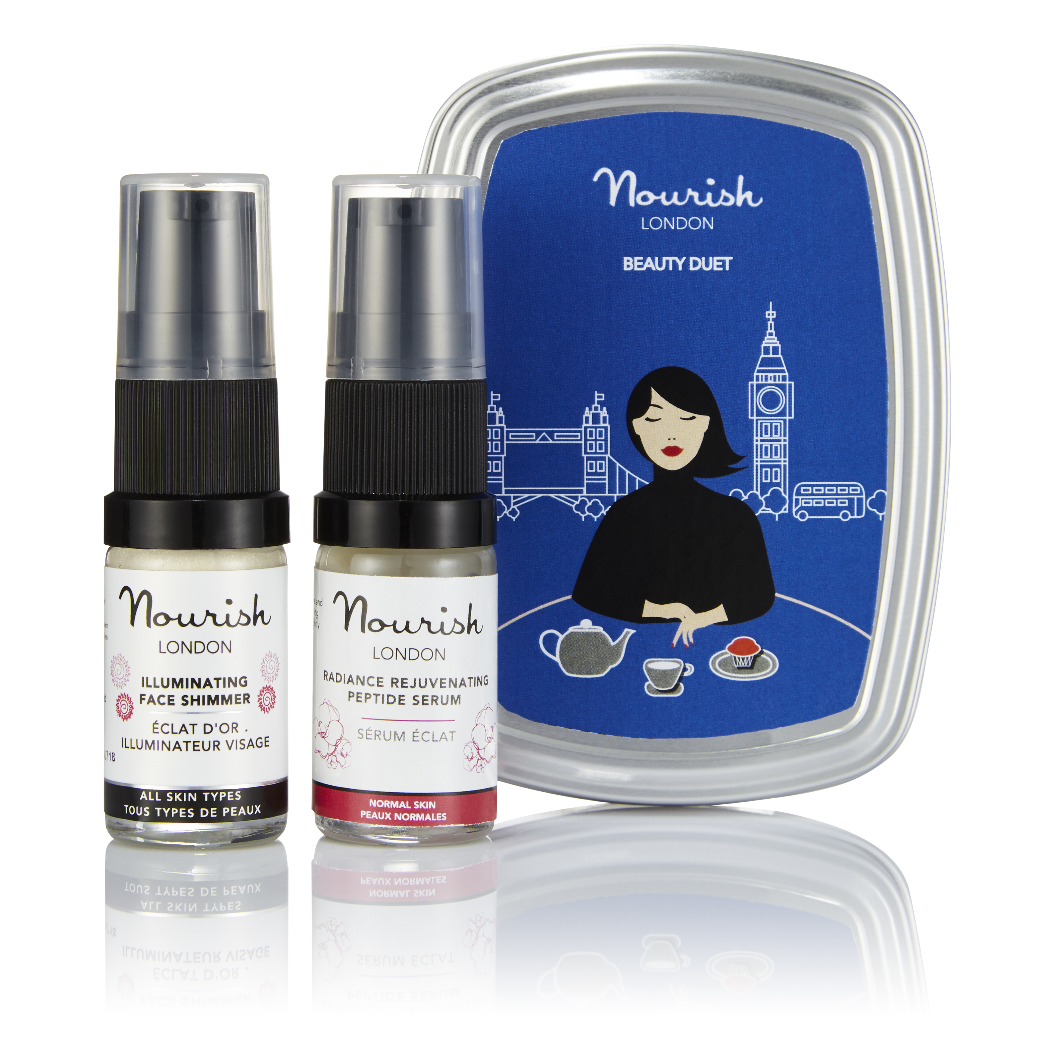 Nourish London Beauty Duet Gift Set (1)