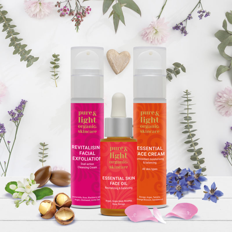 Win £100 of Pure & Light Organic Skincare – The Intelligent Skincare that simplifies life!