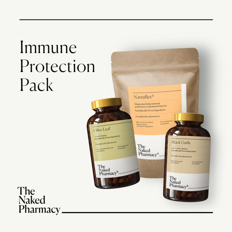 Win an Immune Protection Pack from The Naked Pharmacy worth £67!