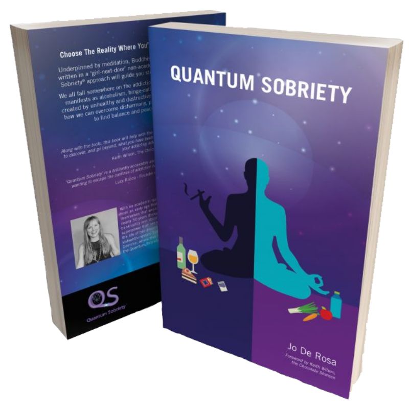 Win the Quantum Sobriety book PLUS Jo's first book, worth £23.98