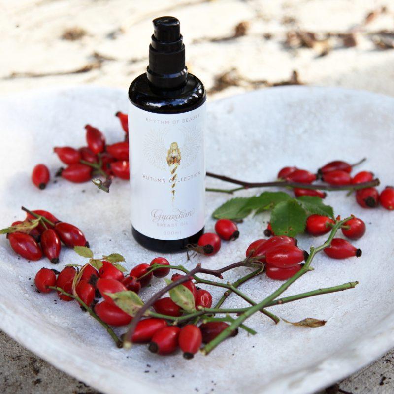 Win Guardian Angel of Breast Oil from Rhythm of Beauty!