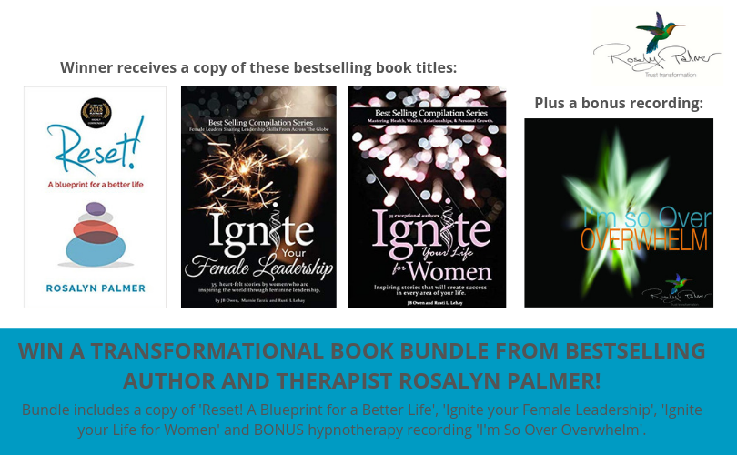 Win a transformational book bundle from Rosalyn Palmer!