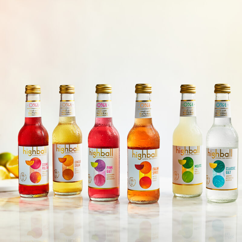 Win a Case of 12 Highball Alcohol-Free Cocktails, worth £22