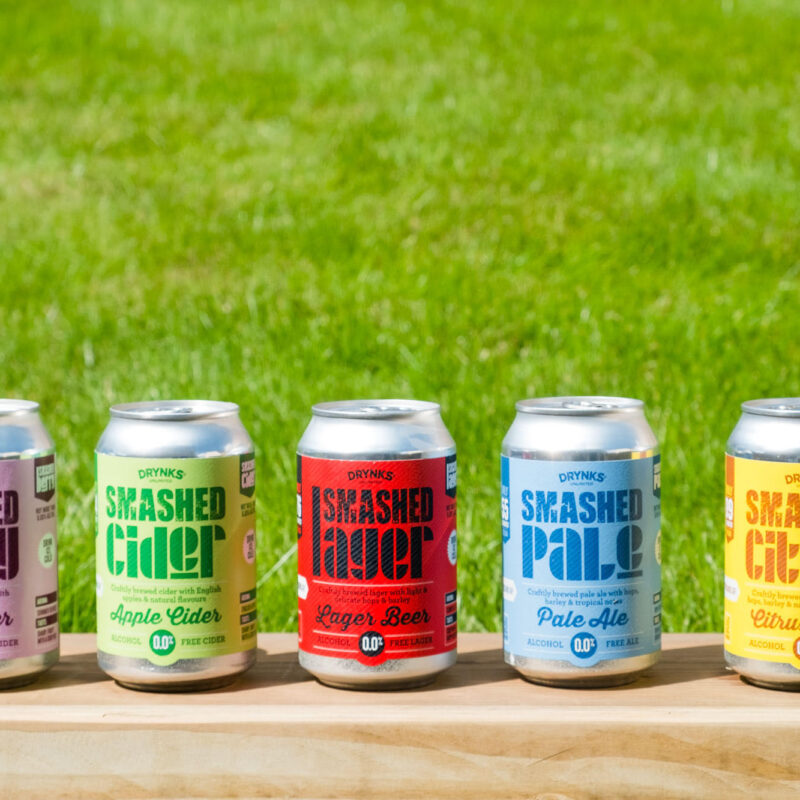 Win a mixed case of SMASHED alcohol-free beers and ciders worth £35!