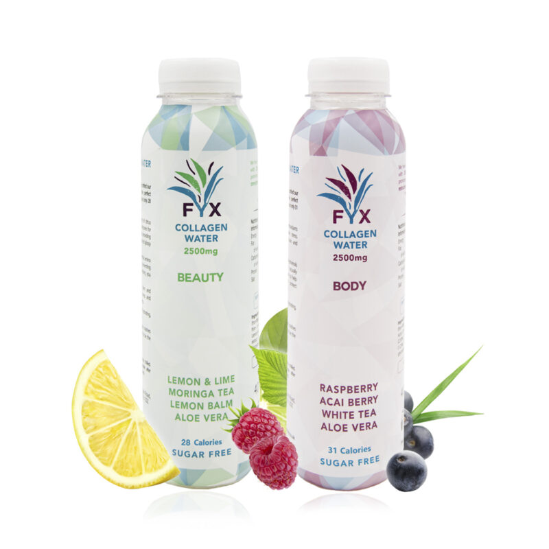 WIN one month supply of FYX Collagen Water!