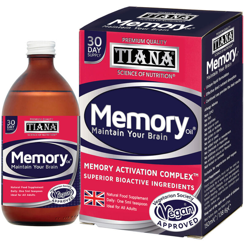 Win TIANA Advanced Memory Oil (30 days' supply worth £25)!