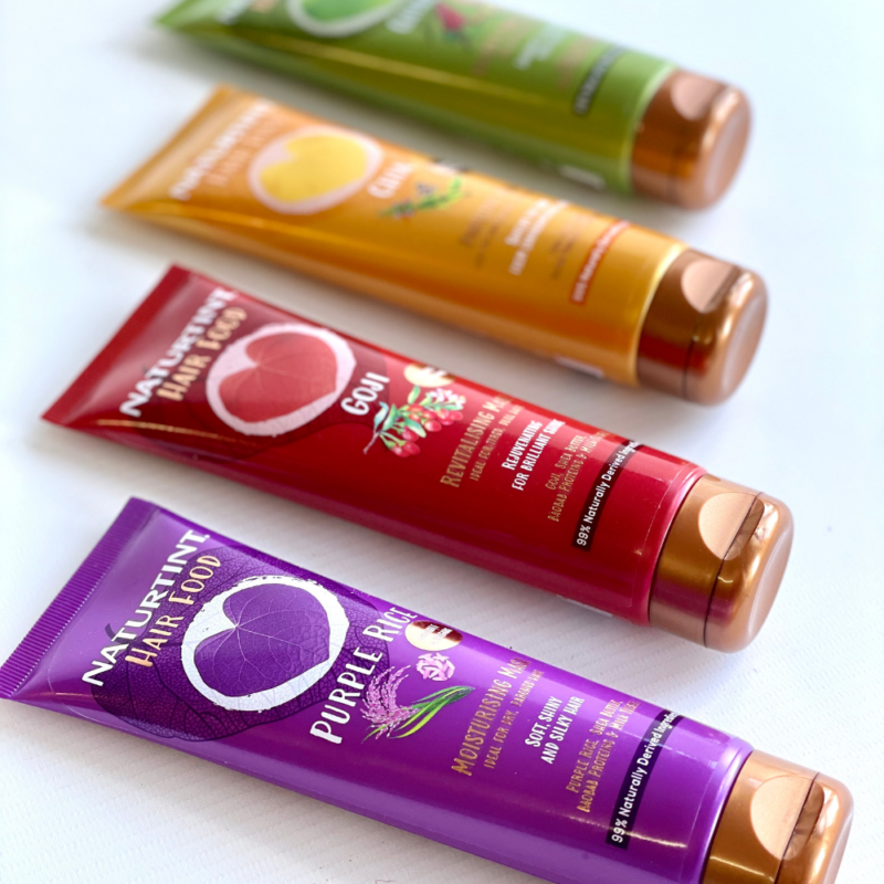 Win a set of NEW Hair Food masks from Naturtint