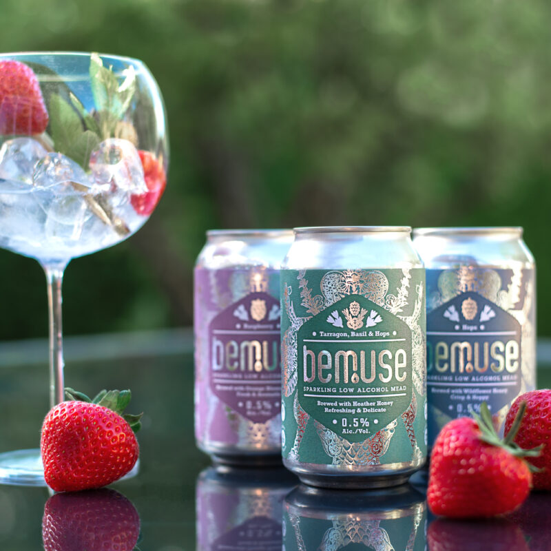 Win a taster pack of BEMUSE – a delicious range of low alcohol sparkling mead!