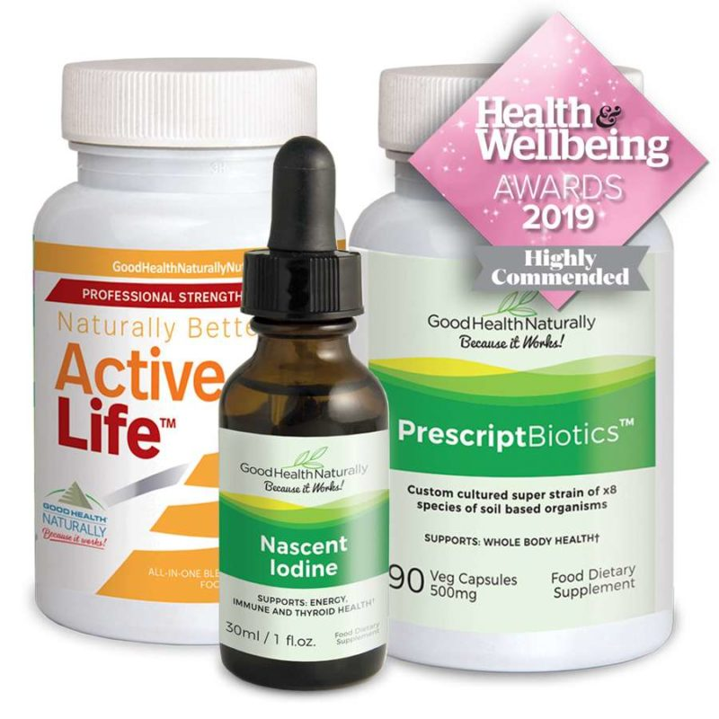 Win the Good Health Naturally Essentials Pack!