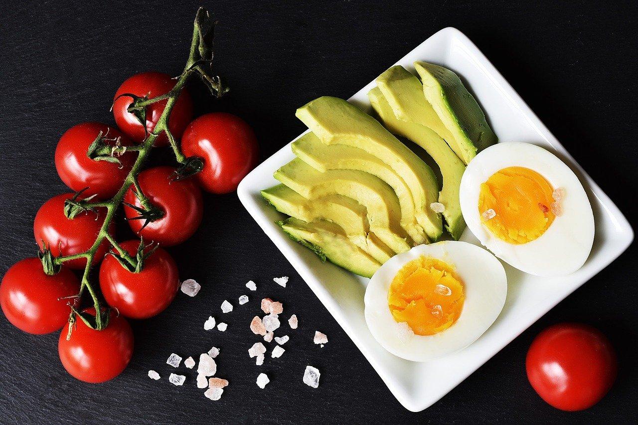 food eggs avocado