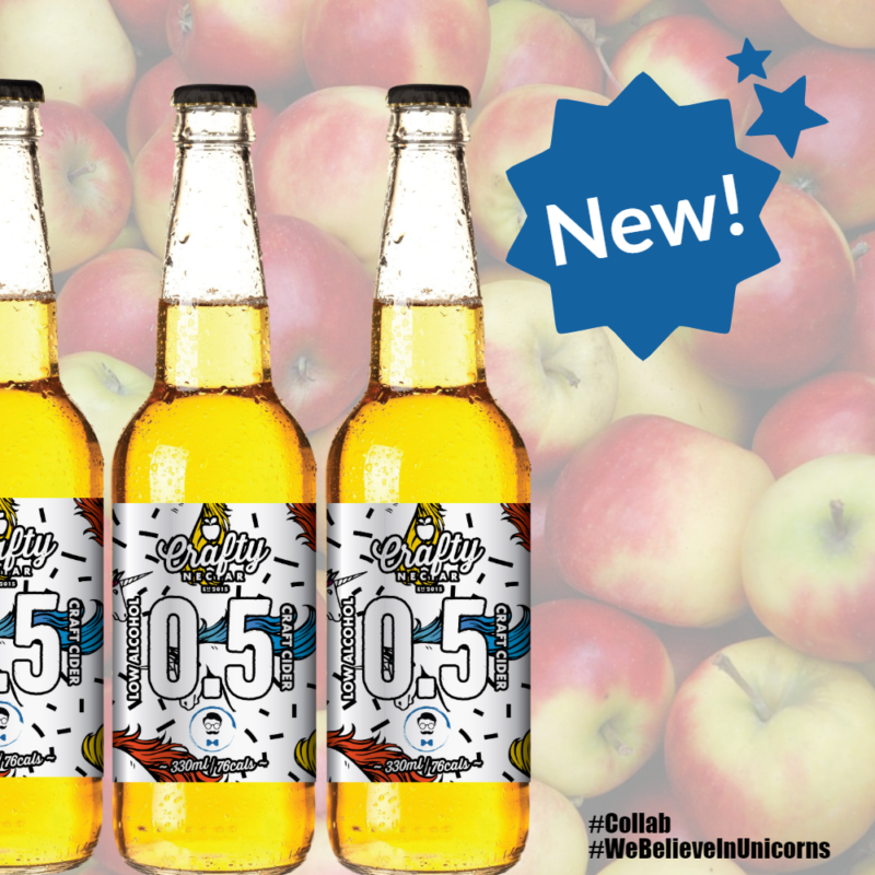 Win a Case of Crafty x Wise 0.5% Alcohol Free Cider!