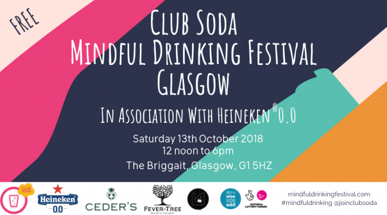 Going Sober for October? The Mindful Drinking Festival in Glasgow