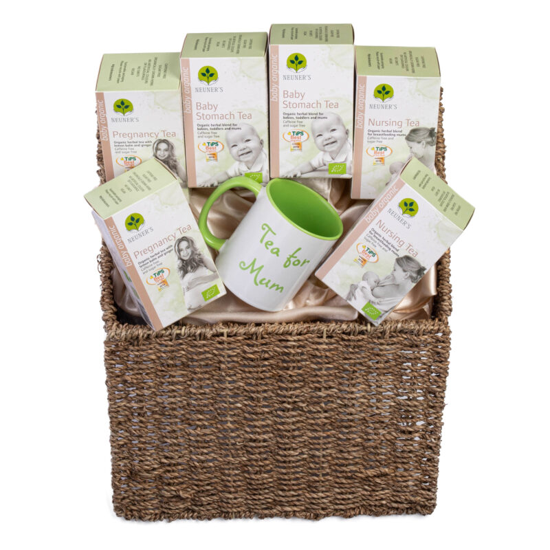 Win a Gift Basket with Neuner's Teas For Pregnancy, Babies and Mom's!