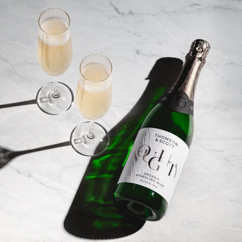 Win a case of Noughty alcohol-free sparkling Chardonnay!