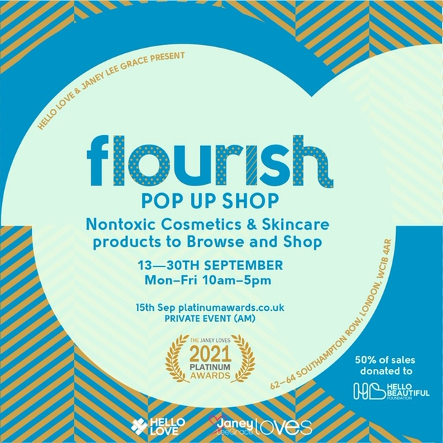 The Pop Up Shop is 13th – 30th SEPT !