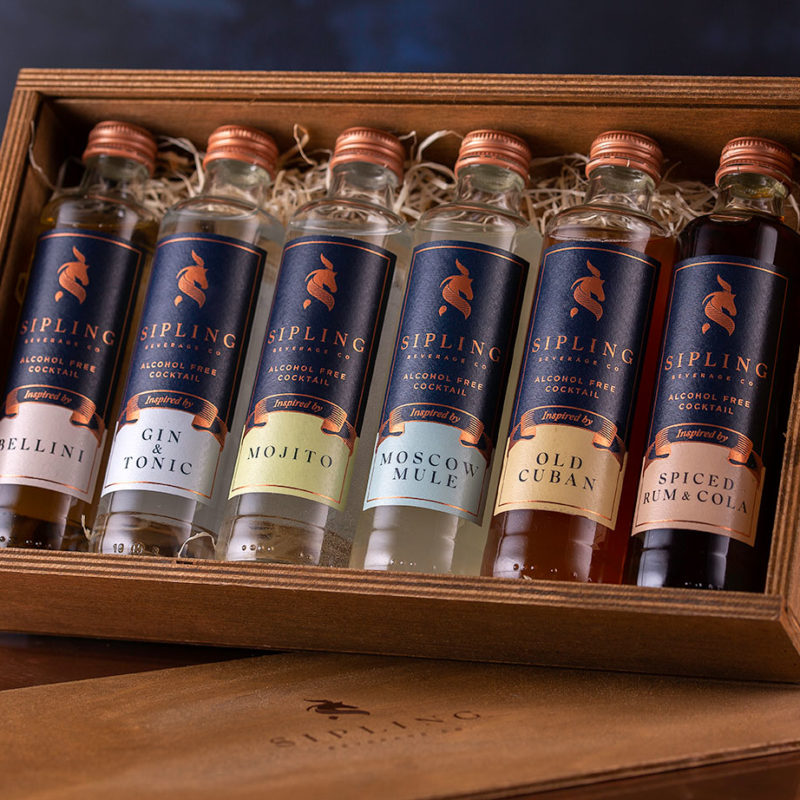 Win 1 of 3 Sipling Beverage Company alcohol-free cocktail tasting packs!
