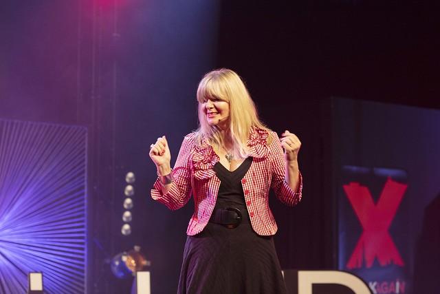 TedXNorwichED 2019, Janey Lee Grace