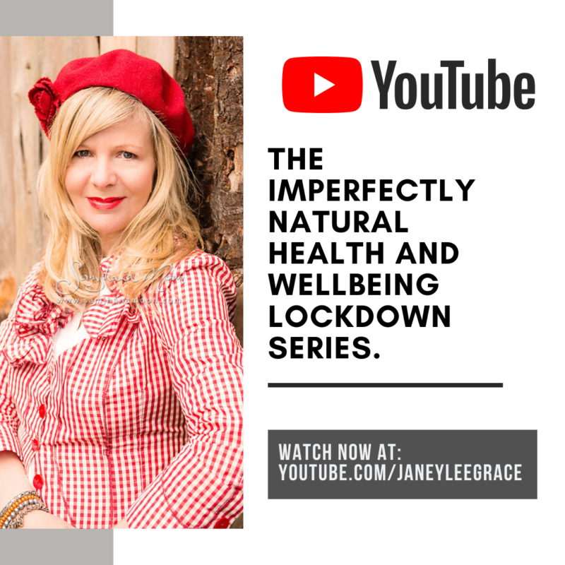 The Imperfectly Natural Health and Wellbeing Lockdown Series